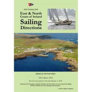 Book cover East and North Coasts of Ireland sailing directions icc sailing books
