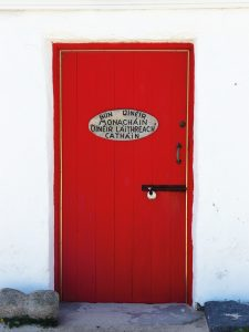 iccsailingbooks Inishkea Red Door