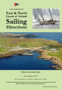 Book Cover East and North Coasts of Ireland Sailing Directions